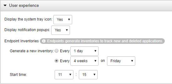 Scheduled Inventory Scan