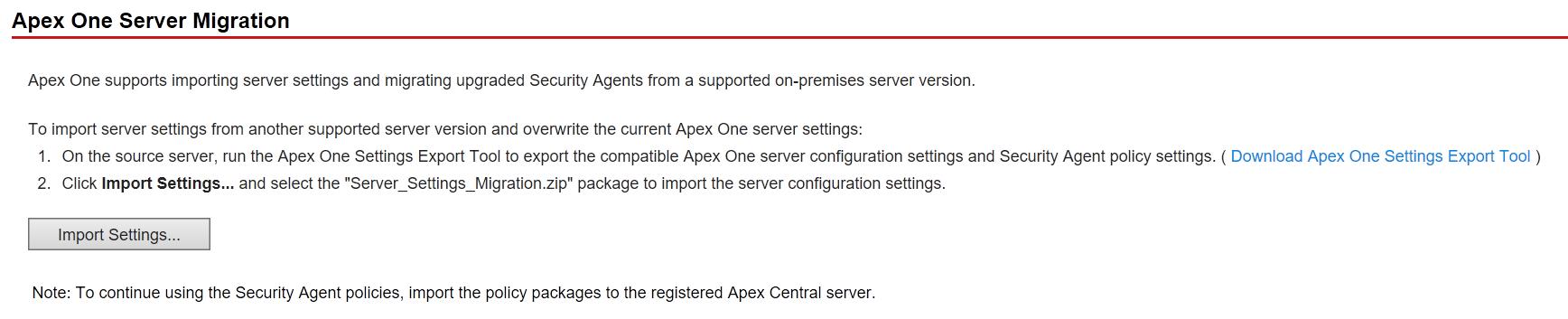 Server Migration