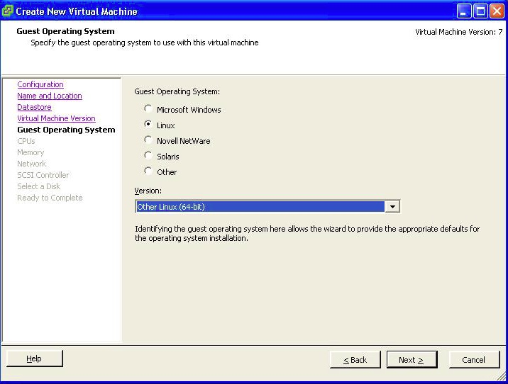 Virtual Machine Guest Operating System