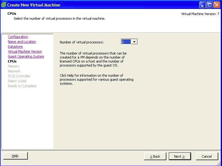 Virtual Machine CPU