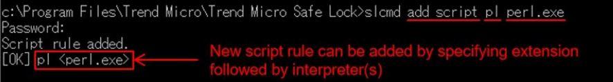 Create new script rule