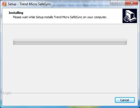 Trend Micro SafeSync Setup
