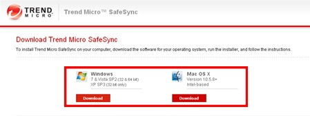 Download SafeSync