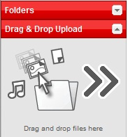 Drag and drop files here