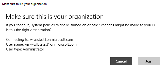 confirm organization