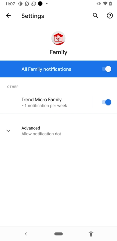 Enable Notification Settings on Android
