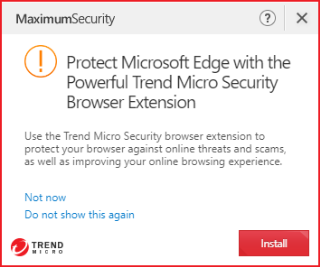 Protect Microsoft Edge with the Powerful Trend Micro Browser Extension
