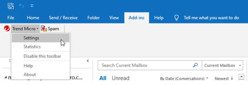 Outlook Settings