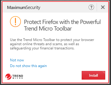 Protect Firefox with the Powerful Trend Micro Toolbar