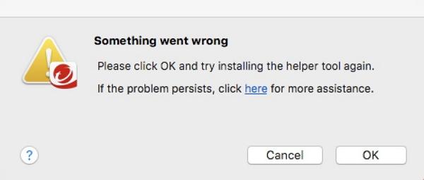 Helper Tool | Something went wrong