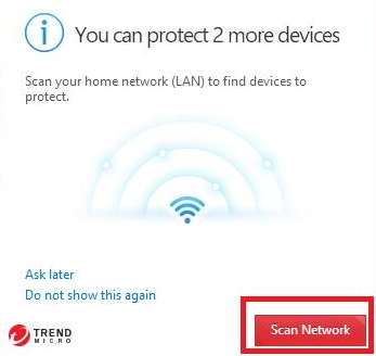 Protect Another Device - Scan Network