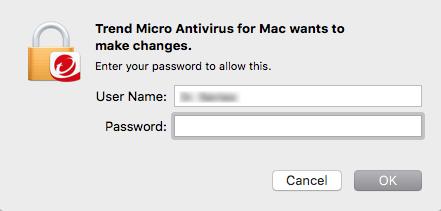 Type the administrator password
