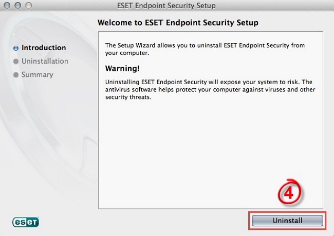 ESET Uninstall