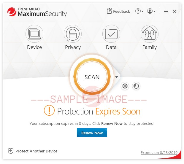 Protection Expires Soon