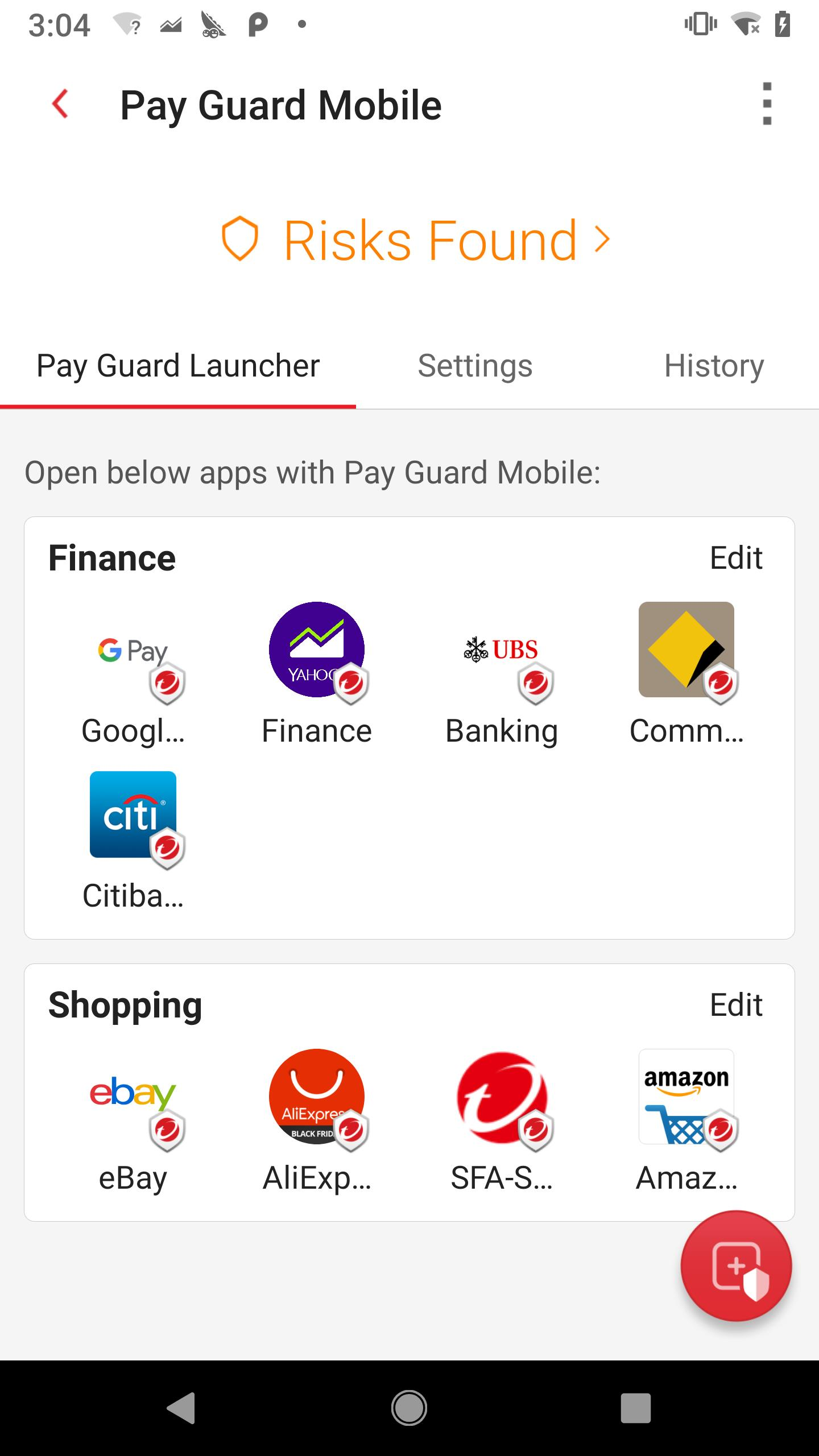 Pay Guard Launcher