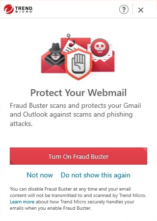 Turn on Fraud Buster