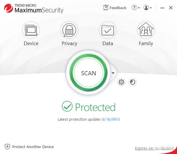 Main_Console_Trend_Micro_Maximum_Security