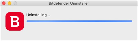 Uninstall Bitdefender