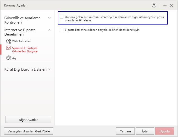 Anti Spam Toolbar