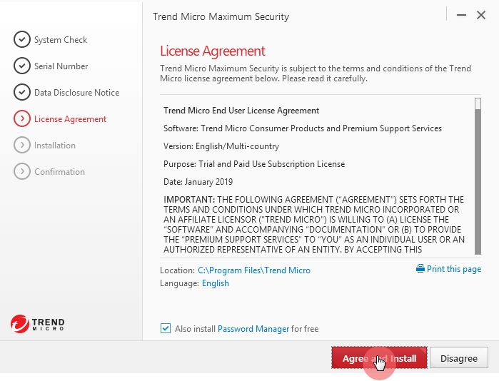 License_Agreement_Trend_Micro_Maximum_Security