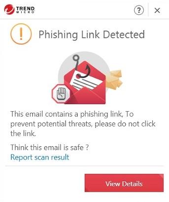 Phishing Link Detected