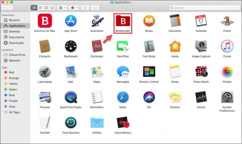 Bitdefender Folder