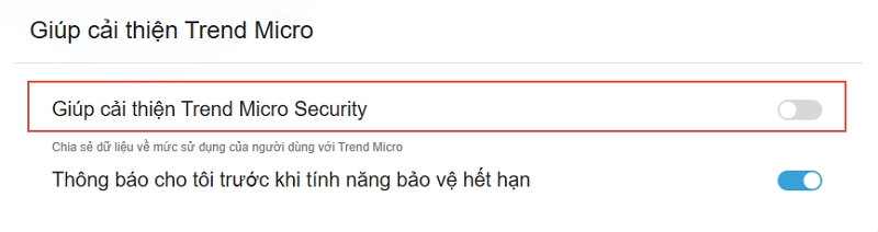 Help Improve Trend Micro Security