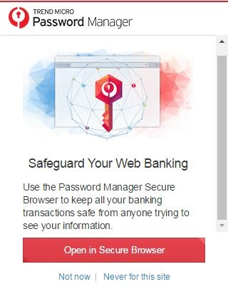 Open in Secure Browser