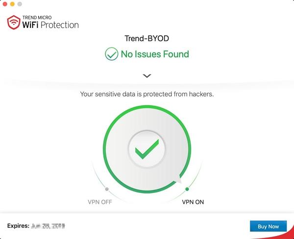 Enable VPN MAC