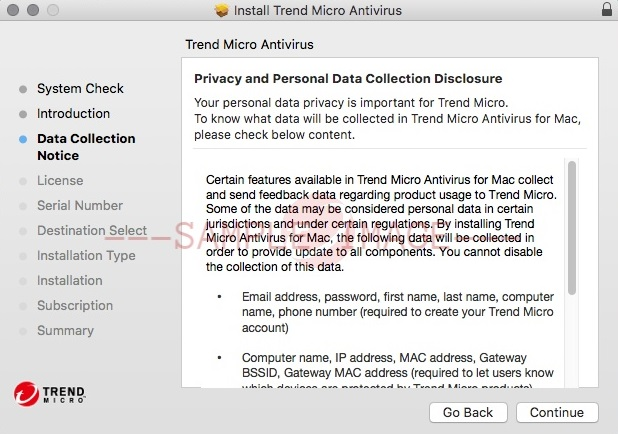 Privacy and Personal Data Collection Disclosure