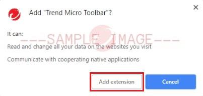 Add Trend Micro Toolbar?