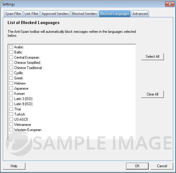 Blocked Languages