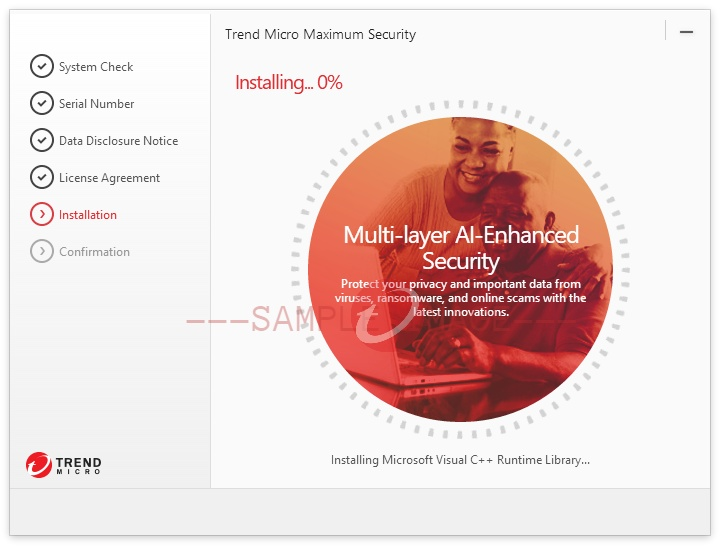 install Trend Micro Security for Windows
