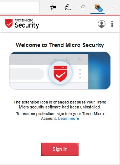 Continue Using Trend Micro Security for Microsoft Edge