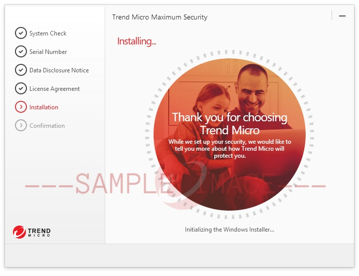Installing Trend Micro Security