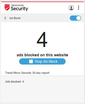 Ad Block Report