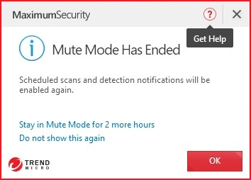 Mute Mode Has Ended