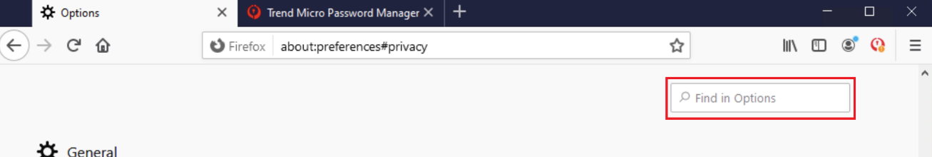 view certificate find in options password manager