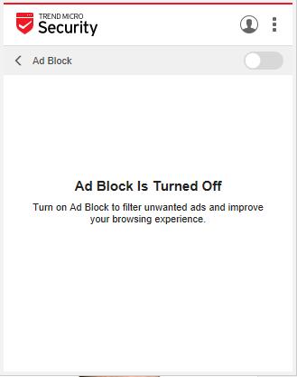 Ad Block Disbled