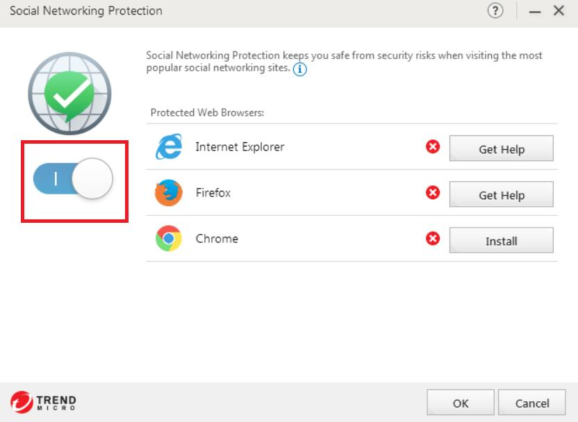 Enable Social Networking Protection