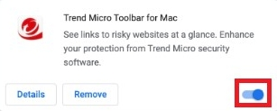 Trend Micro Toolbar Enabled