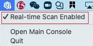 Real-time Scan Enabled