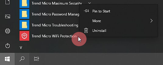 Uninstall_Trend_Micro_WiFi_Protection