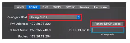 Mac_Renew_DHCP_IP
