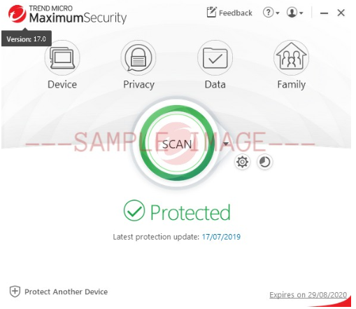 Trend Micro Security version 17.0